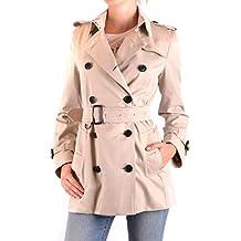 0a06b0400af1f BURBERRY Femme MCBI056344O Beige Coton Trench Coat