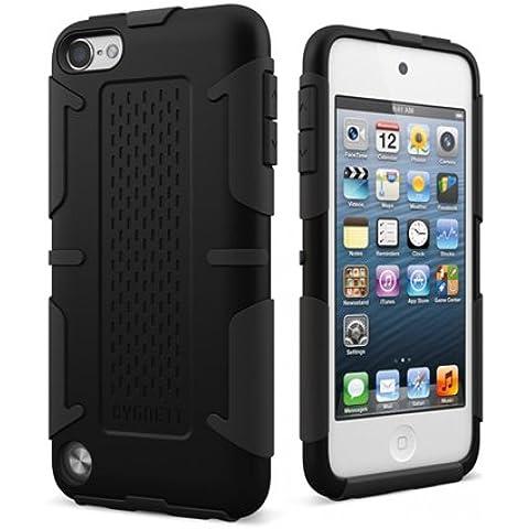 Cygnett CY0904CTWOR - Funda de cuero con pestaña para iPod Touch 5G, color negro [Importado del Reino Unido]