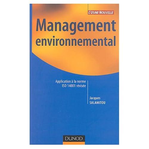 Management environnemental : Application à la norme ISO 14001 révisée