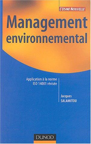 Management environnemental : Application...
