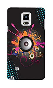 CimaCase Music Designer 3D Printed Case Cover For Samsung Galaxy Note 4