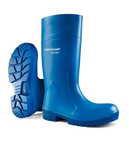 Dunlop Mens FoodPro Purofort Multigrip SRC Safety Wellington Boots Bleu - azul - azul