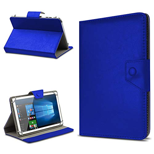 UC-Express Tasche Schutz Hülle für TrekStor SurfTab xintron i 10.1 Tablet Case Stand Cover Farbauswahl, Farben:Blau, Tablet Modell für:Acer Iconia A3-A10