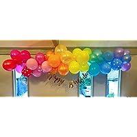 Beautiful Balloons Pastel Rainbow Shade Garland Kit