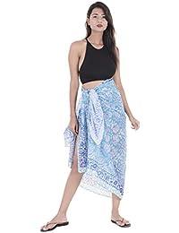 c1759d957e947 Handicraft-Palace Floral Printed Cotton Beautiful Wrap Women's Sarong, Beach  Wear, Sarong Pareo, Swimwear Pool Party…