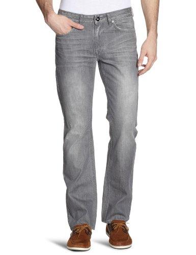 H.I.S Jeans Herren Jeans Niedriger Bund Jeans Randy HIS121-10-1059 Grau (w7001; storm grey)