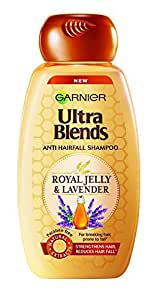 Garnier Ultra Blends Royal Jelly and Lavender Shampoo, 175ml