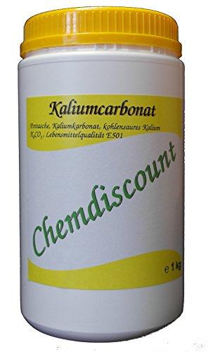 1kg Kaliumcarbonat Pottasche Lebensmittelqualität E501