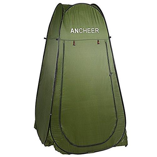 Ancheer Portable Pop-Up-Zelt Camping mit Tasche Toilette Dusche Umkleide im freien