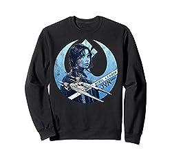 Star Wars Rogue One Jyn Rebel U-Wing Logo Sweatshirt