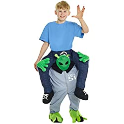 Morphsuits Disfraz de mckpbal extranjero Piggyback niños disfraz–Un tamaño