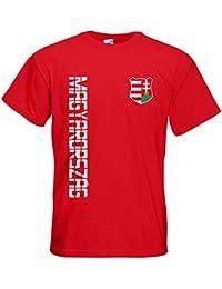 Ungarn Magyarország T-Shirt Trikot Name Nummer