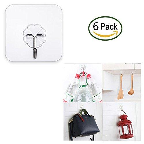 soondar-6pcs-adhesive-hooks-transparent-heavy-duty-wall-hooks-22lbs-10kg-nail-free-no-scratch-super-
