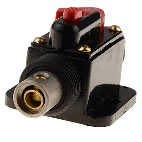 20A 30A 150A para Coche Audio Solar Sistema Inversor Proteccion 12‑24V DC 60A 40A RKURCK 20 Amps Cortacircuitos de Interruptor Portafusibles en l/ínea 80A 100A 50A