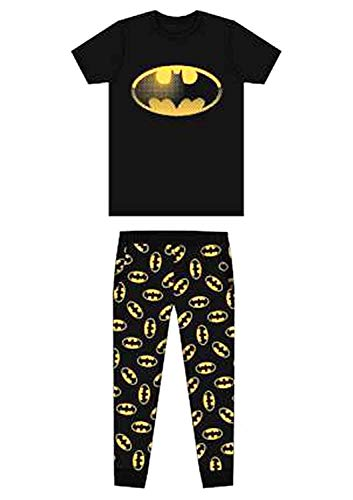 uheit Batman Spiderman Superman Avengers Jurassic Park Harry Potter Schlafanzüge Pyjama Pj-Satz Kostüm - GR. S-XL - Mr Grumpy, M ()