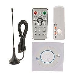 RTL2832U+R820T USB 2.0 Digital DVB-T SDR+DAB+FM HDTV TV Tuner Receiver White