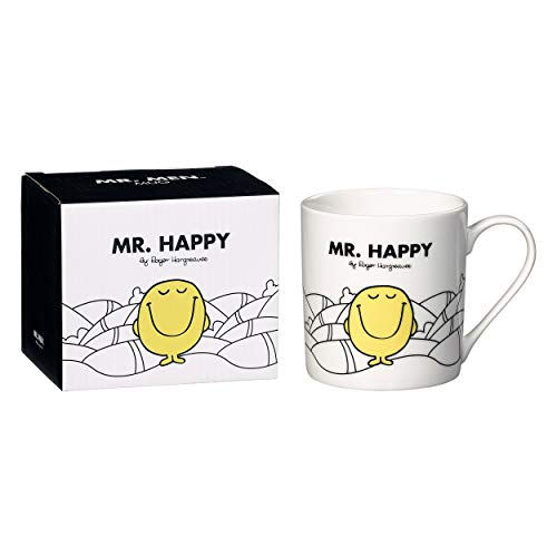 Mr Happy Mug, Blanc