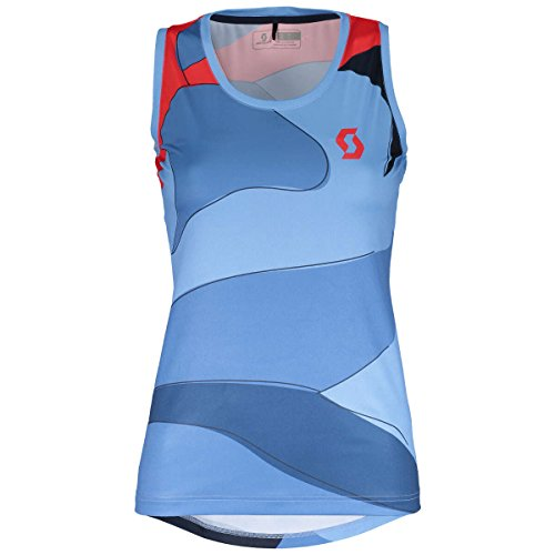 Scott Trail 40 Damen Fahrrad Body Shirt blau/rot 2018: Größe: M (38/40)