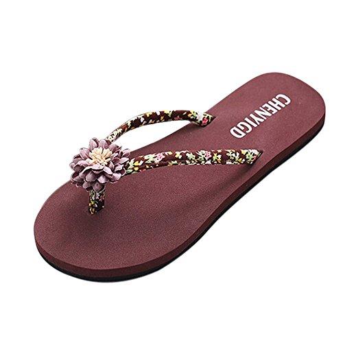 Epig Damen schlank Frauen Strand flip Flops Flipflops Sandalen Schuhe Badeschuhe Sandalen