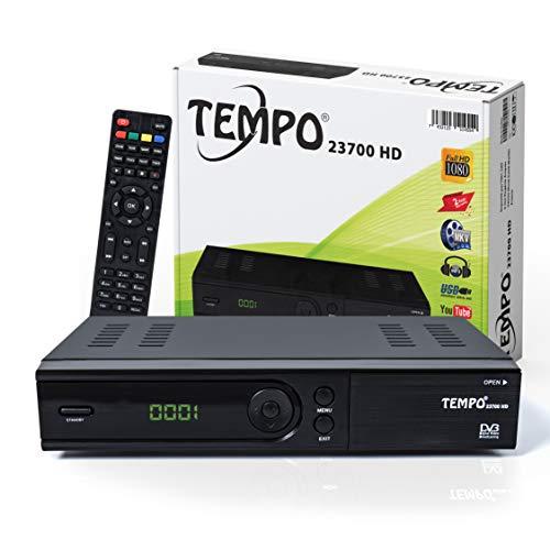 Sat Receiver - (HDTV, DVB-S/S2, HDMI, SCART, 2X USB 2.0, Full HD 1080p) [Vorprogrammiert für Astra Hotbird Tü