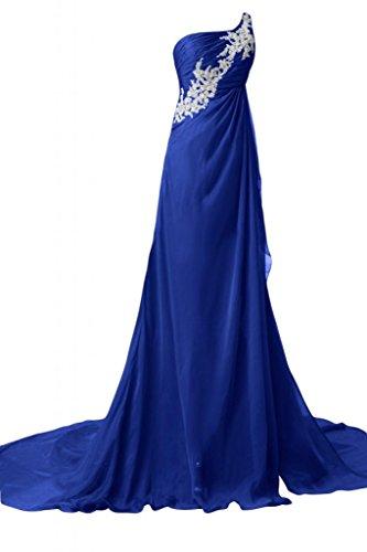 Sunvary bellissimi Una spalla abito da sera, abiti da sera-Pageant Royal Blue