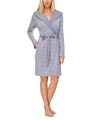Schiesser Women's Selected! Premium Bademantel, 95 Cm Bathrobe - 41DCE vheKL - Schiesser Women's Selected! Premium Bademantel, 95 Cm Bathrobe