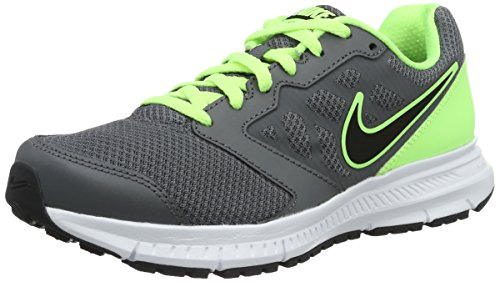 Nike Downshifter 6, Chaussures de Running Homme, 40 EU Gris (Gris Dark Grey/black-ghst Grn-white)
