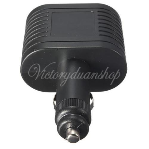 Generic dyhp-a10-code-5618-class-1-- Socket Splitter Adattatore caricatore R apter 2vie auto 12V DC Pow Ter Twin N Auto alimentazione accendisigari DC 12V--dyhp-uk10-160819-3580 - Pow Alimentazione