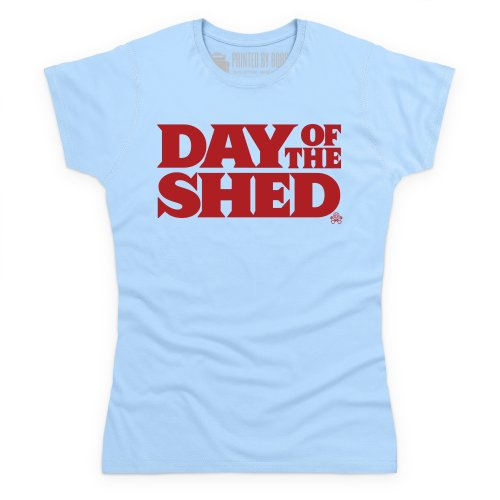 Day of the Shed T-Shirt, Damen Himmelblau