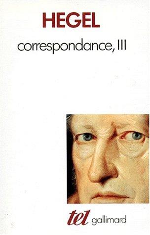 Correspondance (Tome 3-1823-1831)