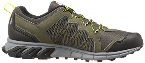 Reebok Men's Trailgrip RS 4.0 Running Shoe Modern Olive / Vital Green / Flat Grey / Stone / B
