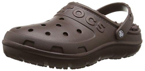 Crocs Hilo Lined Sabot U, Chaussures Mixte Adulte Mahogany