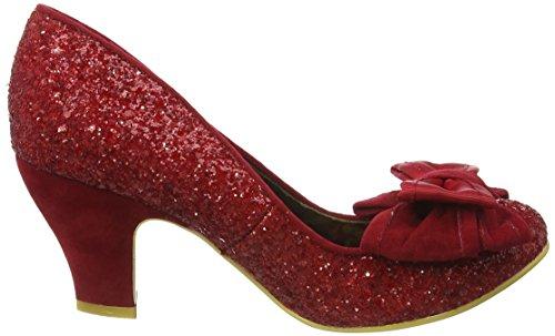 Irregular Choice - Ban Joe, Scarpe col tacco Donna Rosso (Rosso (Red))