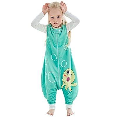 MICHLEY Disfraz Animal Bebe Saco Dormir niño y niñapijama ropa de bebe Ideal para Entretiempo e Invierno,