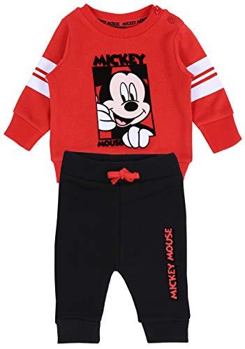 Conjunto: Pantalones + Sudadera Mickey Mouse Disney 12-18 m 86 cm