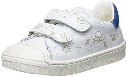 art Kids Jungen Star Sidney Slip On Sneaker, Elfenbein (White), 27 EU