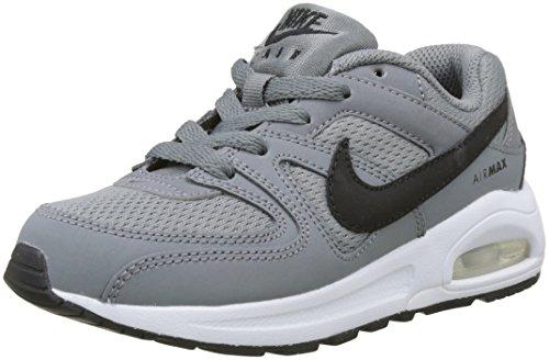 Nike Kinder und Jugendliche Air Max Command Flex (PS) Laufschuhe, Grau (Cool Grey/Black/White), 35 EU (Große Handtasche Akzentuiert)