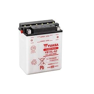 Batterie YUASA YB14L-A2, 12V/14AH (Maße: 136x91x168) für Suzuki GSX-R 1100 >530< Baujahr 1991