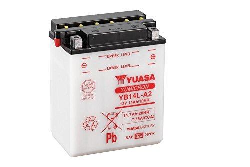 Batteria YUASA YB14L A2, 12V/14ah (dimensioni: 136X 91X 168) per Gilera Nexus 500anno di costruzione 2004