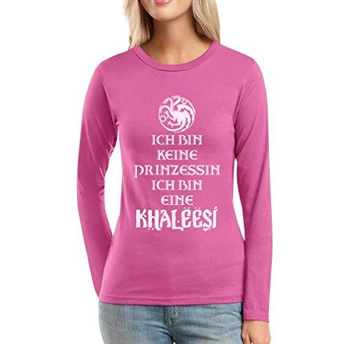 Ich Bin Keine Prinzessin Eine Khaleesi Fanartikel Frauen Langarm-T-Shirt Rosa