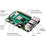 Raspberry Pi 4, 4GB RAM, Your Tiny, Dual-Display, Desktop Computer