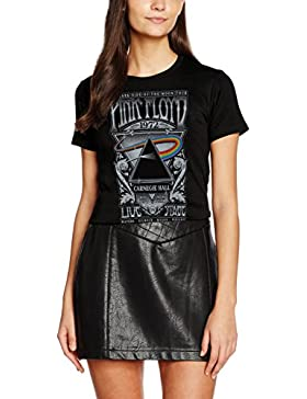 Rockoff Trade Pink Floyd Carnegie Hall Fitted, Camisetas para Mujer
