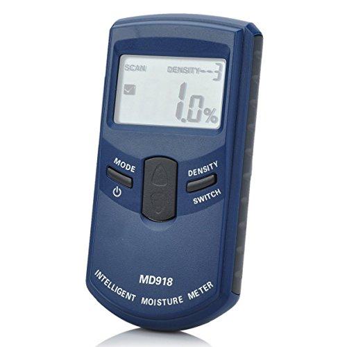 Genau Induktive Holz Holzfeuchtigkeitsmesser Hygrometer Digitale Elektrische Tester Messwerkzeug MD918 4~80% Dichte electromanectic Digital Induktive Spannung Detektor