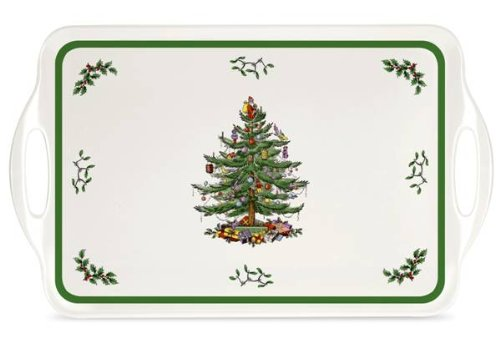Pimpernel Spode Christmas Tree Design Melamine Large Tray