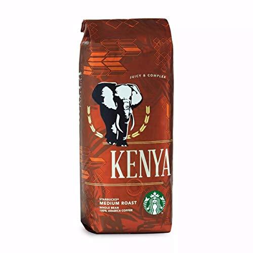 STARBUCKS Kenya 100% Arabica Kaffee Bohnen Medium (Harmonisch, sanft und intensiv), 1er Pack (1 x 250g Kaffeebohnen)