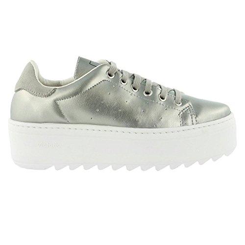 Victoria, Sneaker donna Argento (Argento)