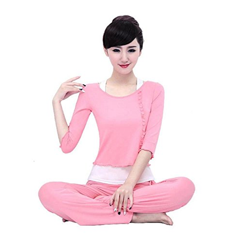 Femme formation vêtements de yoga costume / danse / sport / 3 PCS Pink