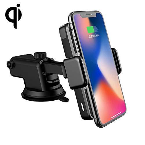 ZUBEHORS Mode-Autoladegerät D09 Infrarot Sensing Automatische Auto Air Outlet Bracket Natürlicher Staubsauger Qi Standard Wireless Ladegerät -