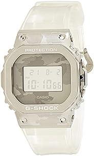Casio G Shock GM 5600SCM 1DR Metal Face Men's Digital Wrist Watch, Si