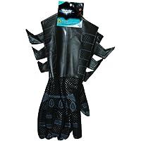 Batman Accesorio para disfraz de Batman para adultos, guantes de Batman (El caballero oscuro), piel sintética